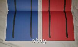 RARE STIK poster prints The Big Issue 2013 Complete Set of All Four colours Mint