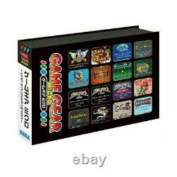 SEGA Game Gear Micro 4 Color Complete Set + 16 Pins Collection box limited