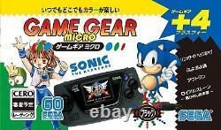 SEGA Game Gear Micro 4 Color Complete Set + Big Window Micro Japan New JP