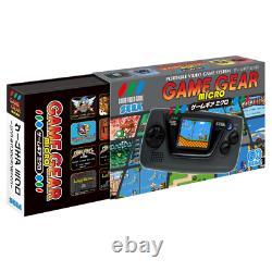 SEGA Game Gear Micro 4 Color Complete Set + Big Window Micro + Pins Collection