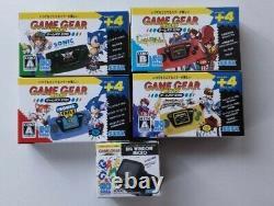 SEGA Game Gear Micro 4 color console Big Window Complete Set 30th Anniversary