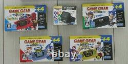 SEGA Game Gear Micro 4 color console complete set + Big window micro 30th JAPAN