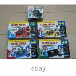 SEGA Game Gear Micro Complete 4-color Set withbonus big window micro New In Box
