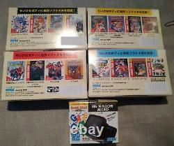 SEGA Game Gear Micro Consoles UK Stock Big Window 4 Colours Complete Set Rare