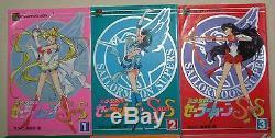 Sailor Moon Super S color Animation book 1-6 Complete Full set Naoko Takeuchi