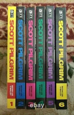 Scott Pilgrim Color Edition Hardcovers Complete Collection/Set 1 2 3 4 5 6