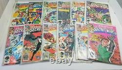 Secret Wars #1-12 (1984) Complete Set, Full Run, Venom, Titania, Julia Carpenter