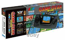 Sega Game Gear Micro console 4 color complete set 30th Anniversary GG withpins