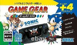 Sega Game Gear Micro console 4 color complete set 30th Anniversary GG withwindow