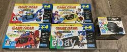 Sega Game Gear Micro console 4 color complete set withwindow 30th Anniversary GG