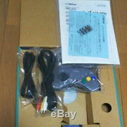 Sega V Saturn Victor Console System RG-JX2 (Y) rare Gray Color Complete Set