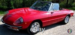 Set Verkleidung Rahmen Frontscheibe Alfa Romeo 105/115 Spider Komplett 1970-94