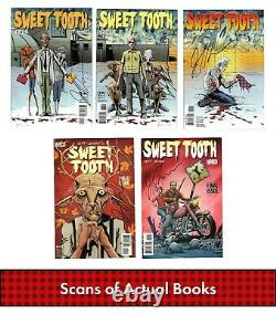 Sweet Tooth #1-40 Complete Collection Full Set ALL SIGNED by Jeff Lemire NM
