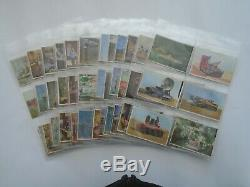 THUNDERBIRDS Complete Colour Set A&BC/Somportex 73 x Gum cards 1966 in sleeves