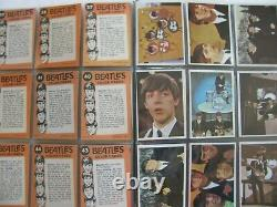The Beatles Complete Set Topps Color Photos Trading Cards 1-64 1964