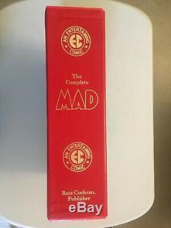The Complete MAD EC Library Box Set w'Slipcase Russ Cochran 1987 Color Version