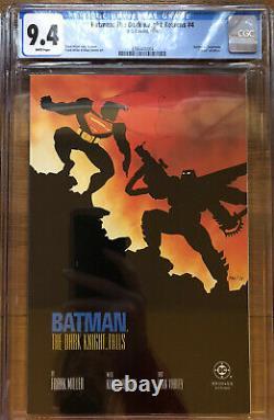 The Dark Knight Returns #1-4 1st Print Complete Series CGC GRADED