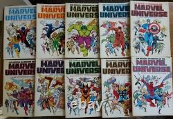 The Official Handbook of the Marvel Universe, 1986/87, Rare complete 10 vol set