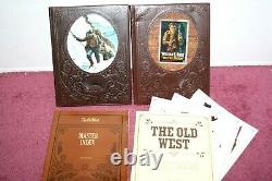 Time Life The Old West Set Complete 26 Volumes with Master Index + 6 Color Prints