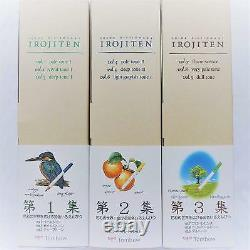 Tombow Coloring Pencil Irojiten No. 1-3 Complete Set 90 Pencil Ship From JAPAN
