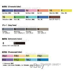 Too Copic Sketch Premium Artist Marker Pens assorted 72 / 358 Color Set Japan