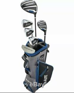 Top Flite 9-Piece Complete Golf Set withBag Ages 9-12 4 Colors Right & Left Hand