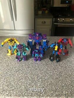 Transformers Combiner Wars Menasor G2 Colors complete set