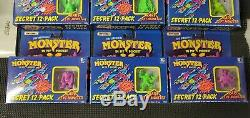 Very Rare Monster In My Pocket Limited Edition Hot Colors! Complete Boxed Set
