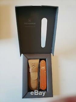 Victorinox Cadet Alox 5 Colors Complete Set 2012 Limited Edition