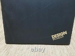 Vintage Design Spectracolor Colored Pencils Complete Set Of 60 With Easel Case