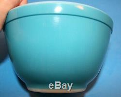 Vintage PYREX Primary Colors Mixing Bowl and Refrigerator Complete Dish Sets