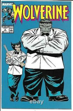 Wolverine #1-189 Nm Near Complete 189 High Grade Issues Marvel Comics Set Lot
