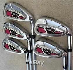 Womens Complete Golf Set Driver Wood Hybrid Irons Putter Bag Ladies PINK Color