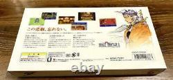 Wonder Swan Color Final Fantasy 2 II Version Complete Set BANDAI Rare Limited