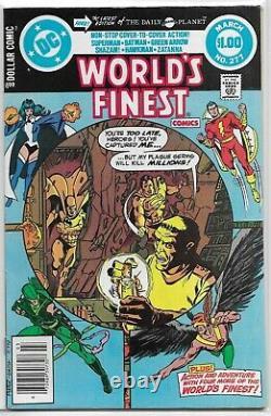 World's Finest Comics #245-282 100% COMPLETE (no 244) Shazam Zatanna Creeper