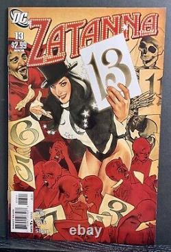 Zatanna 1-16 (2010) Complete Set Paul Dini Adam Hughes