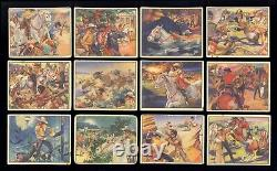 1940 Gum Inc Lone Ranger 50% Ensemble Complet (24/48) Prix Right Great Color