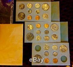 1949 Double Mint Set. Bu Complet Couleurs Complètement Délavé. Réduction De 50% + Finale