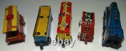 1950, Ex! Train + Platforme Colorfule-marx De Caractere Complète De Setwalt