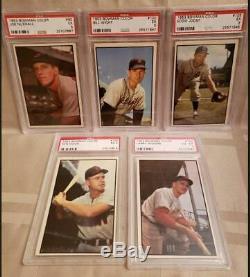 1953 Bowman Baseball Couleur Partielle 32 Set Carte (20% Complet)