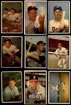 1953 Bowman Color Baseball Ensemble Complet 2 Bon