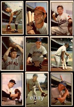 1953 Bowman Color Baseball Ensemble Complet 4.5 Vg/ex+