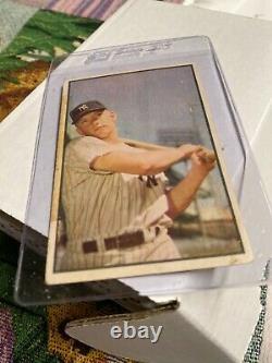 1953 Bowman Color Baseball Ensemble Complet Rare Set