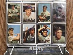 1953 Bowman Color Near Complete Set (127)! Lire La Description Pour Manquant