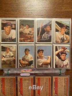 1953 Bowman Couleur Baseball Ensemble Complet