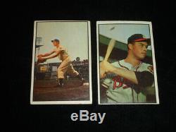 1953 Bowman Couleur Baseball Ensemble Complet De 160 Vg Total Mantle Pas De Plis