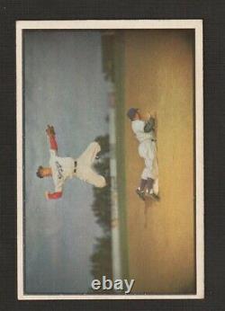 1953 Bowman Couleur Ensemble Complet 160 Cartes Vg/ex