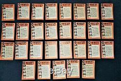 1964 Cartes De Couleurs Beatles Topps Complete Set Vg