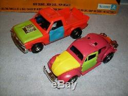 1973 Smash Up Derby Ensemble Édition Multi-couleur Complète Kenner Ssp