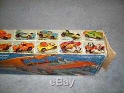 1974 Hot Wheels Redline Flying Colors Race Vitesse Stunter Ensemble Complet Avec Voiture
